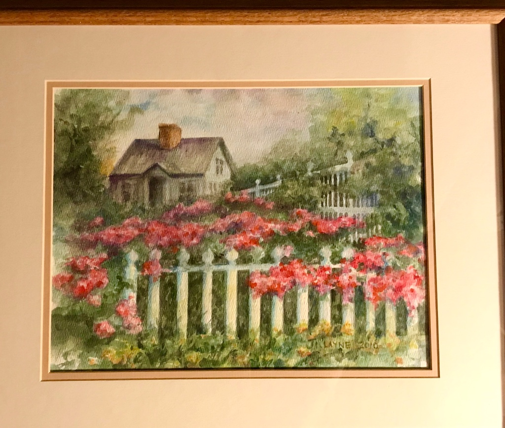 Flowered Picket Fences